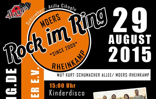 """Rock im Ring: Auch für 2016 gab es einen Riesenscheck für """"Klartext für Kinder"""""""