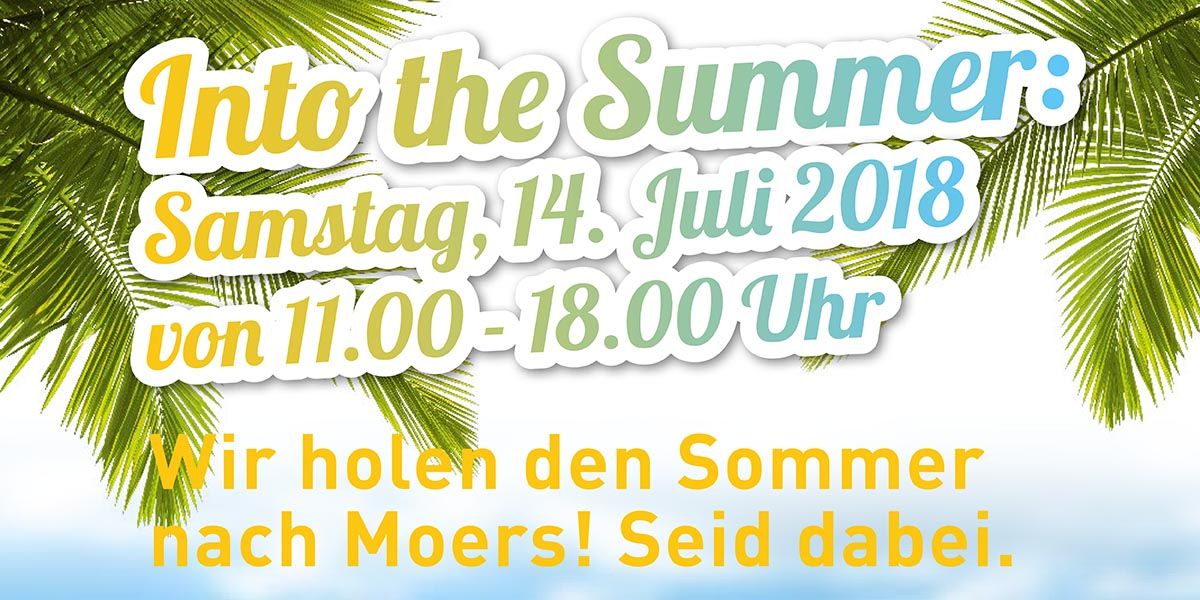 Sommerfest in Moers